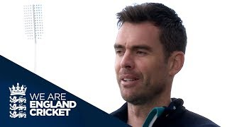Jimmy Anderson Takes Us On A Tour Of Old Trafford