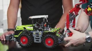 CLAAS XERION 5000 TRAC VC - LEGO Technic - Vidéo de designer