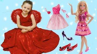 ÖYKÜ YILBAŞI BALOSU İÇİN HAZIRLANIYOR Barbie Doll yılbaşı Bebeği Oluyor Funny and Fun Kids Videos