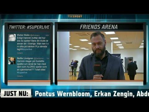 """Lundh: """"Guidetti känns som ett PR-mässigt val av Hamrén"""" - TV4 Sport"""