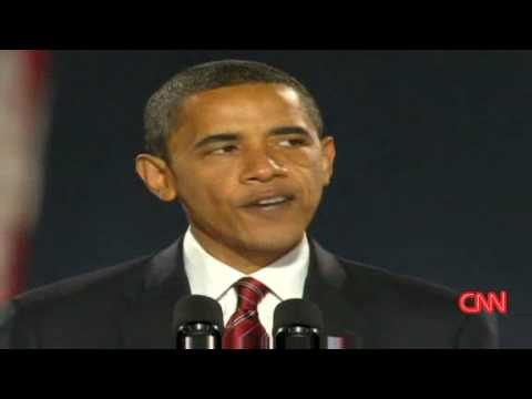 President-elect Barack Obama 'Yes we can'