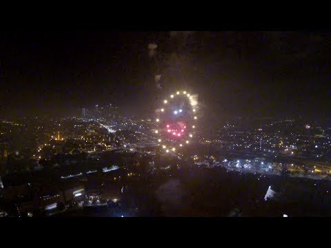 LA Coliseum Expo Park Fireworks 2017 - Full 30 minute display