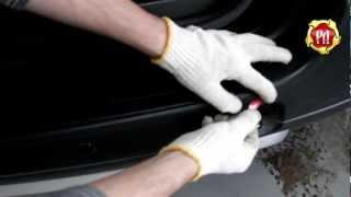 видео Для чего нужна накладка на задний бампер автомобиля?