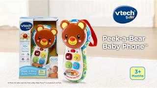 VTech® Peek-a-Bear Baby Phone™ | Demo Video