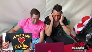 """Russell Dickerson Watches A Local School Sing """"Blue Tacoma"""" Video"""