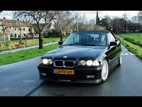 bmw alpina b3 3 0 e36 convertible dutch review youtube. Black Bedroom Furniture Sets. Home Design Ideas