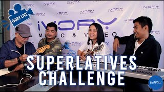 #IvoryLive: Blind Stereo Moon plays the Superlatives Challenge