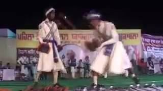 First International Gatka Competition at Gurduara Yadgar Sahib jarg 08.mp4