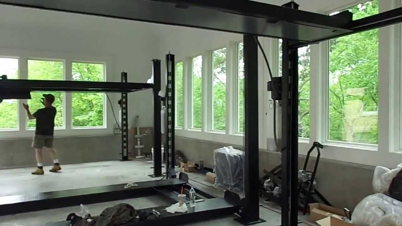 Four Post Lift >> FP8K-DS-XLT 8,000lb Capacity, Service and Storage Lift by ...