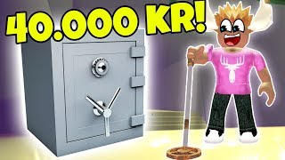 FINDER PENGESKAB TIL 40.000 KR! - Dansk Roblox: Metal Detecting Simulator #2