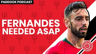 Is Bruno Fernandes Needed On The Manchester United Pre-Season Tour 2019