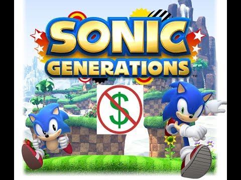 ดาว์โหลดเกม sonic generation PC ฟรี