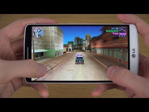 GTA Vice City LG G3 4K Gameplay Trailer