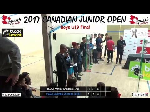 2017 12 12 - Canadian Junior Open - Court 6