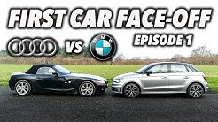 First Car Face-Off - Episode 1: Audi A1 Vs. BMW Z4!