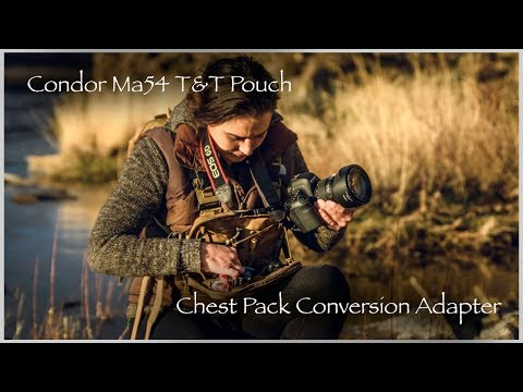 Condor Ma54 T&T Pouch Chest Pack Conversion Kit