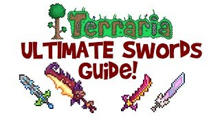 ULTIMATE Terraria Sword Guide! Meowmere vs Star Wrath, Influx Waver & Flying Dragon! (Late/End Game) thumbnail