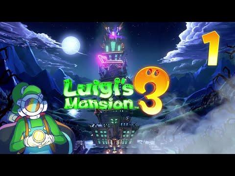 [Stream Archive] Luigi's Mansion 3: Luxurious Hotel Getaway! ✦ Part 1 ✦ Astropill