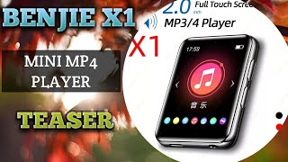 Download BENJIE X1 MP4 PLAYER MINI BLUETOOTH TEASER INDONESIA