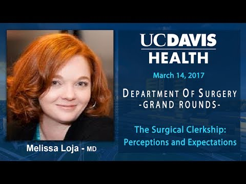 The Surgical Clerkship: Perceptions and Expectations - Melissa Loja, M.D.