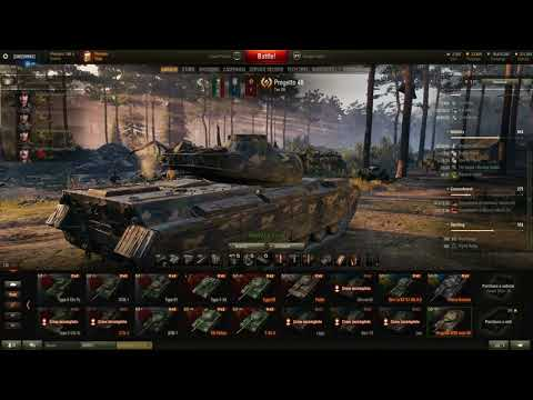 World Of Tanks. Progetto M 35 mod 46 Review And Gameplay.