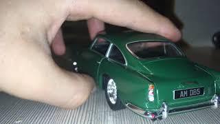 Обзор на модель кинсмарт 1963 Aston Martin DB5 1/38