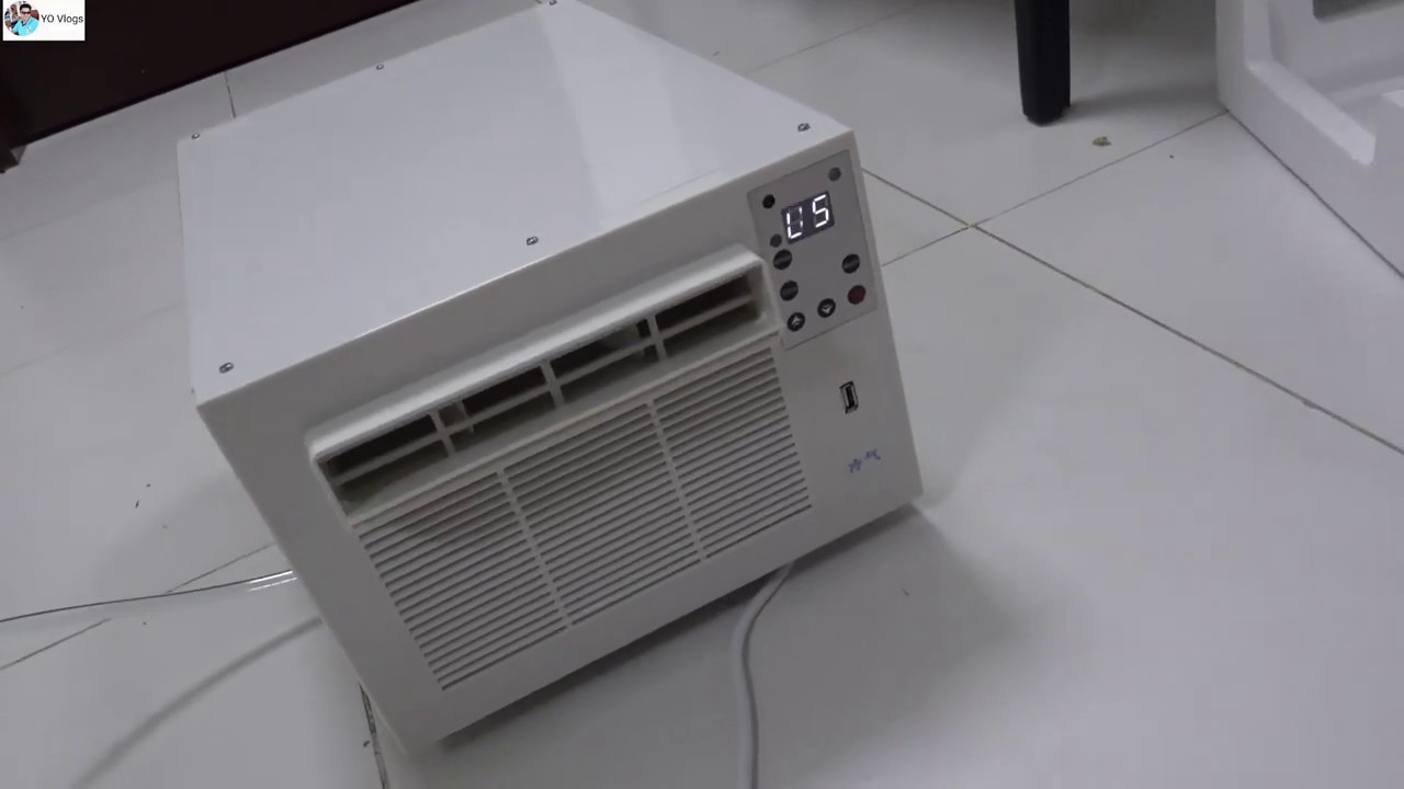 Portable Air Conditioner 1 Ton low consumption Unboxing & Testing