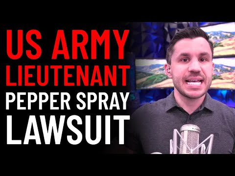 Army Lt. Nazario Pepper Spray Lawsuit​