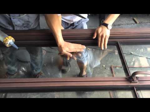 Install Glass 1
