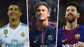 Ronaldo Vs Messi Vs Neymar Latest and Best skills and shots comparison video