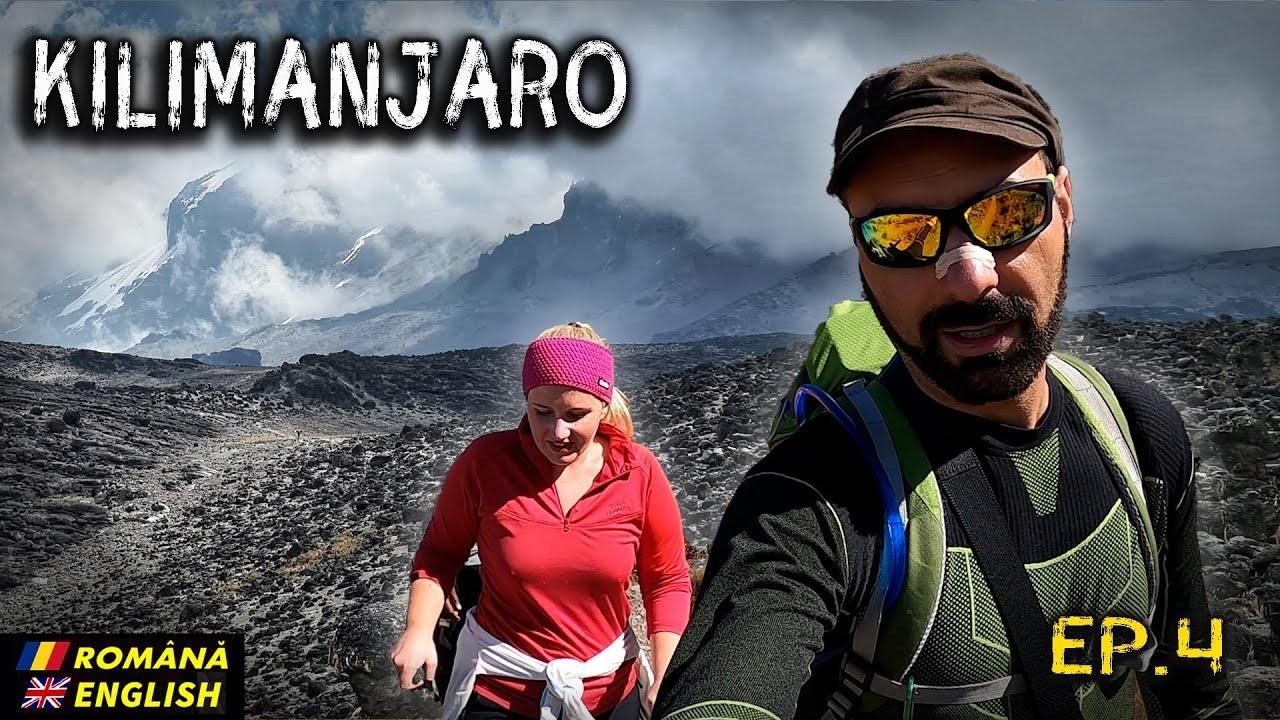 Kilimanjaro 2020 Ep.4 (Barranco 3900m - Karanga 3900m - Barafu base camp 4650m) Romanian/English
