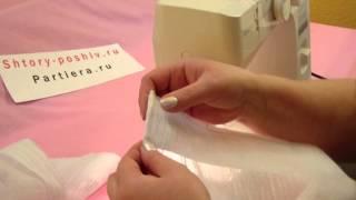видео Как собрать шторы на ленте своими руками
