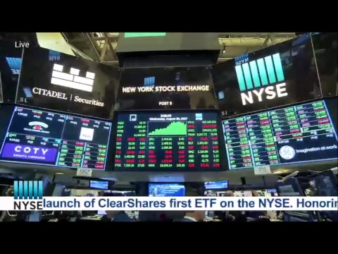 ClearShares Rings The NYSE Closing Bell
