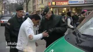 Polizeirazzia in der Dortmunder Nordstadt