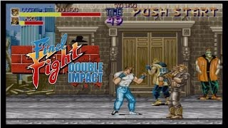 Final Fight: Double Impact - Full Playthrough