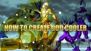 Dragon Ball Xenoverse: How to create God/ Golden Cooler With Gameplay