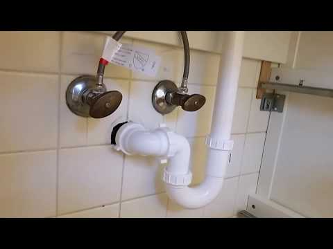 "Plumbing Tips for Installing Ikea Vanity - Godmorgon - Problem Solving a 1 1/4"" Trap Adapter"