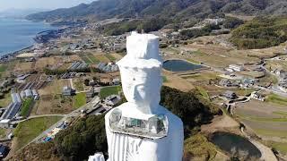 MAVIC AIR  淡路島 巨大観音像空撮