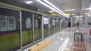 牛耳新設線UL000系 北漢山牛耳駅発車