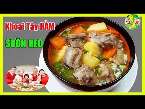 ✅ Canh Khoai Tây Hầm Sườn Heo Cho Gia Đình Hạnh Phúc Hơn   Hồn Việt Food