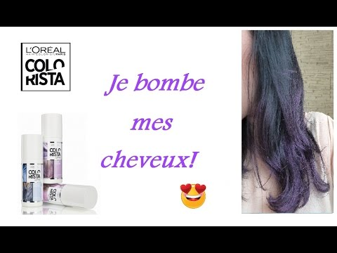 Test Du Colorista 1 Day Color De Loreal Spray Premieres