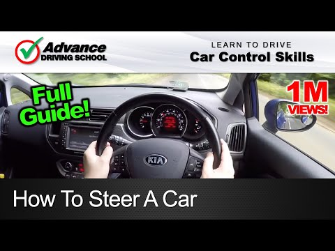 How To Steer A Car  |  Learning to drive: Car control skills
