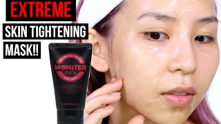 EXTREME SKIN TIGHTENING MASK- Great for Large Pores! TINA TRIES IT