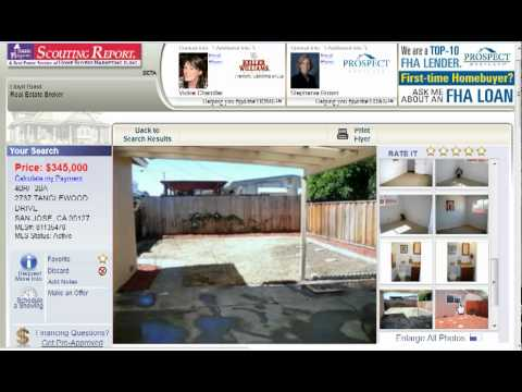 San Jose CA Home For Sale – 2737 Tanglewood Drive