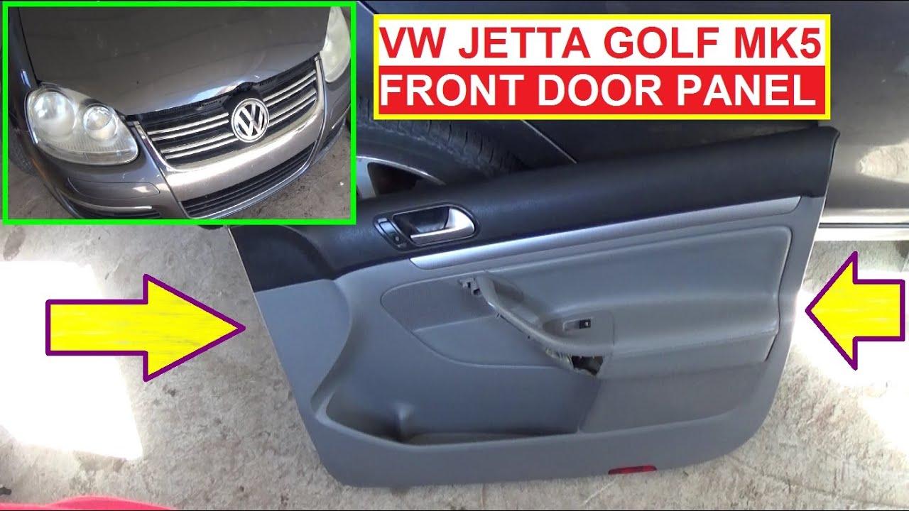 removing door panel  volkswagen golf volkswagen