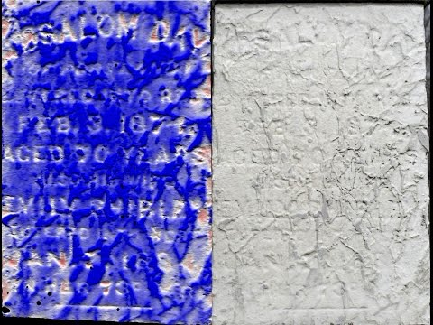 Photogrammetric Documentation of Weathered and Damaged Headstones at the Cataraqui Cemetery