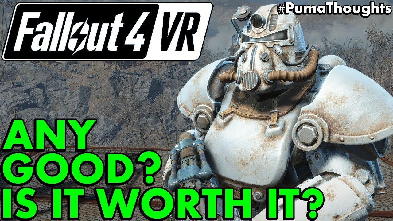 Is Fallout 4 VR Worth It? (Fallout 4 VR HTC Vive Gameplay
