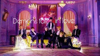 Demons fall in love with mystery girl [BTS] part-2