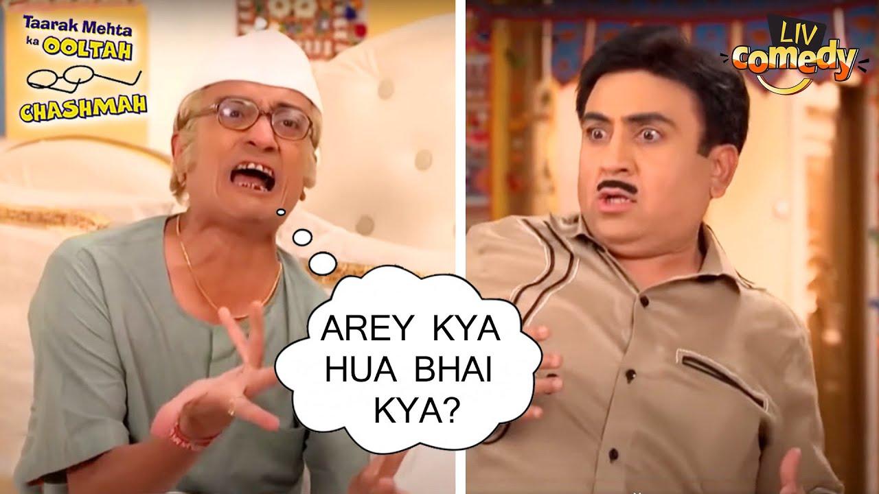 जेठा को पड़ी चंपकलाल से डांट | तारक मेहता का उल्टा चश्मा | Comedy Videos