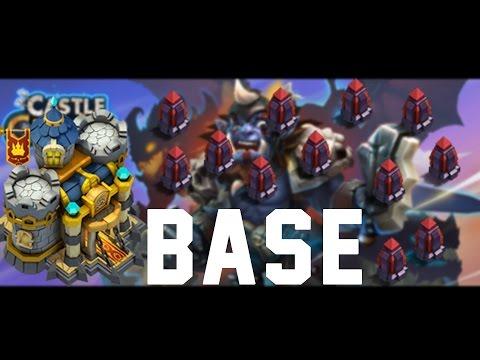Castle Clash :Town Hall LVL 12 | BASE + HBM C